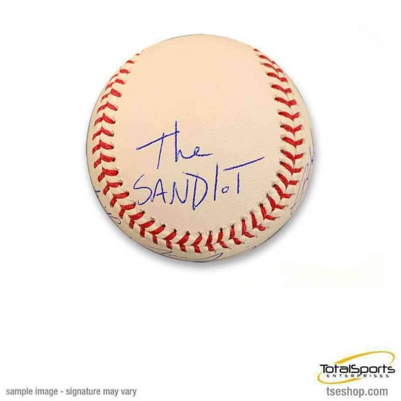 The Sandlot Cast Signed Official MLB Baseball