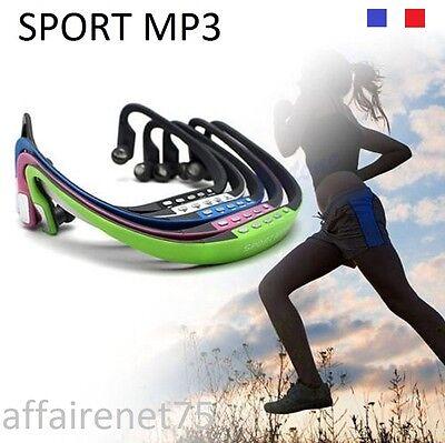 Lecteur Casque Stéréo MP3 Sans Fil Sport Radio Fm
