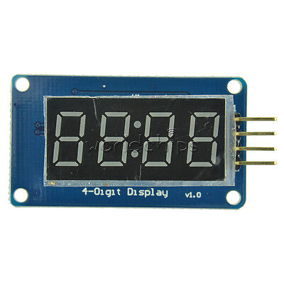 Tm1637 4 Bits Digital Tube Led Clock Display Module For Arduino Due R3 Uno 2560