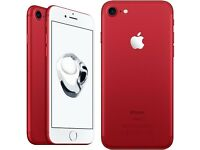 *+*+Apple iPhone 7 128GB RED - *FACTORY SEALED*Apple 1 year Warranty - Unlocked - Brand New*+*