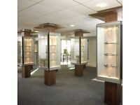Display systems: Silversmithing, Jewellery retail or gem display