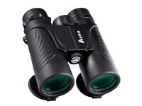 Brand New BNISE Asika Binoculars Compact for Bird Watching, 10x42