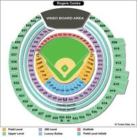 Toronto Blue Jays Playoff Tickets! GAME 5 ROW 24!! <<