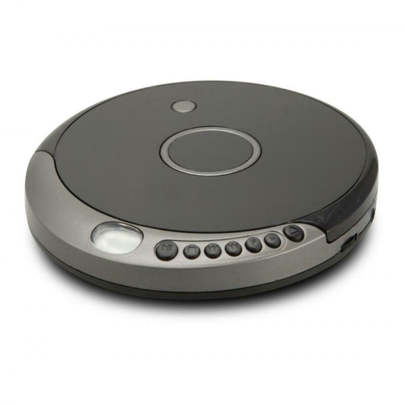 GPX PCB319B Portable Anti-skip MP3-CD Player with Bluetooth