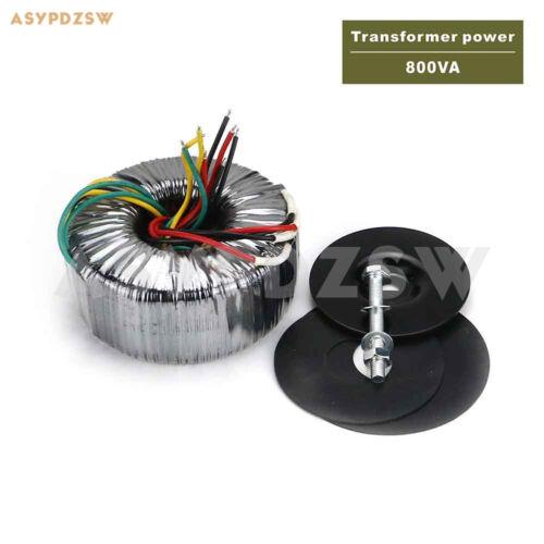 800VA OFC Pure copper Toroidal transformer 800W 36-0-36X2 12-0-12 Accept custom