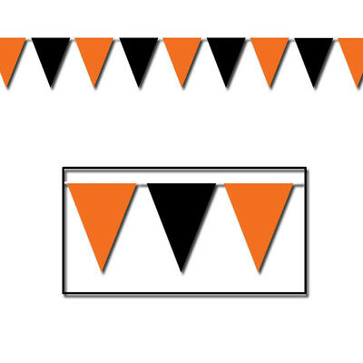 Orange And Black Pennant Banner](Halloween Pennant Banner)