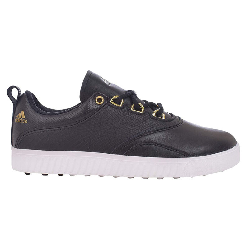 NEW Adidas Womens Adicross PPF Golf Shoes BB8030 Black/Gold/White -Pick Your Sz!