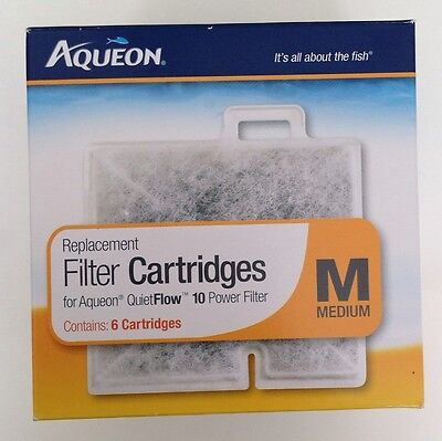 Aqueon Replacement Filter Pad Cartridges Quiet Flow 10 Medium Size
