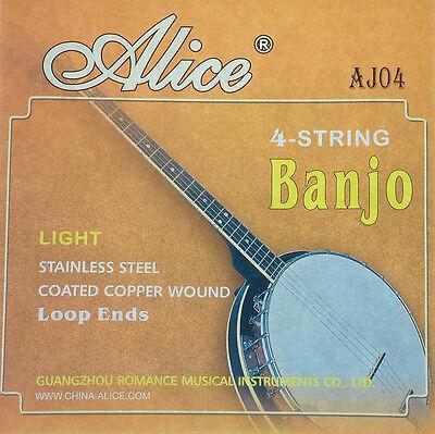 Stahlsaiten, Saiten, Banjosaiten für Banjo 4 saitig