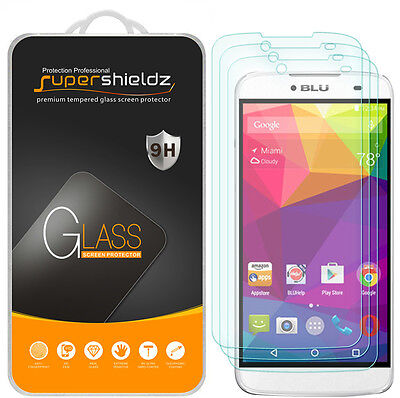 Dash Savers (3X Supershieldz for Blu Dash X Plus Tempered Glass Screen Protector)