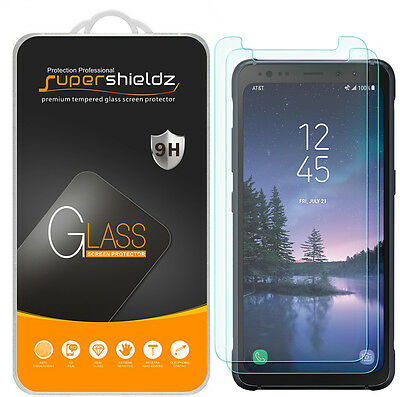 "2X Supershieldz Samsung ""Galaxy S8 Lively"" Tempered Glass Screen Protector Saver"