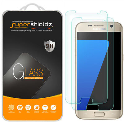 2X Supershieldz Tempered Tumbler Screen Protector for Samsung Galaxy S7