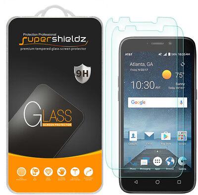 2X Supershieldz ZTE Maven 3 Tempered Glass Screen Protector Saver