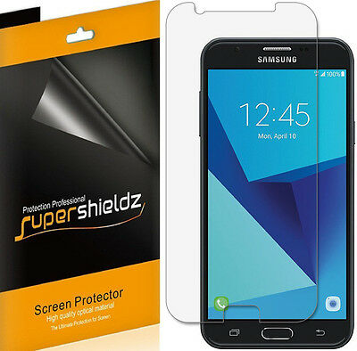 6X Supershieldz HD Unclouded Screen Protector Saver For Samsung Galaxy J7 Prime