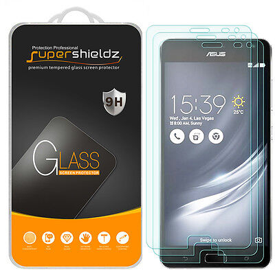 3X Supershieldz for ASUS ZenFone AR Tempered Glass Screen Protector Saver