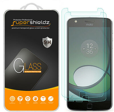 2x Supershieldz® Tempered Window Screen Protector Saver For Motorola Moto Z Play