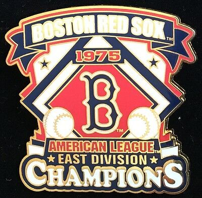 BOSTON RED SOX 1975  AMERICAN LEAGUE CHAMPIONS EAST WILLABEE & WARD  SERIES - American League Pins