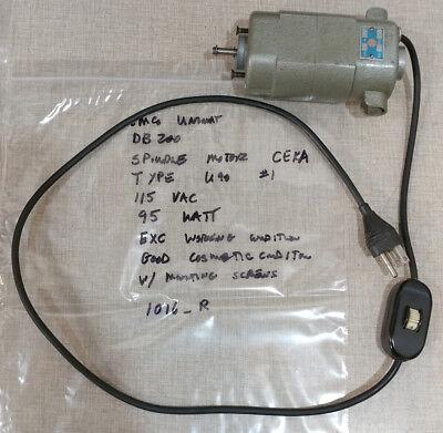 Emco Unimat Db200 Sl1000 Lathe Ceka U90 Spindle Motor 1 1016r