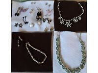 Collection of fashion ljewellery