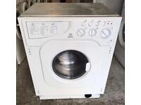 INDESIT WD12X INTEGRATOR WASHER & DRYER 3 MONTH WARRANTY, FREE INSTALLATION