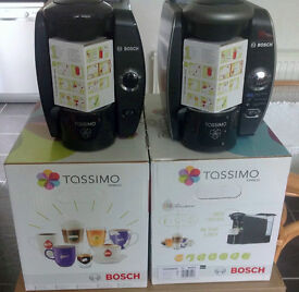 Two Tassimo Coffee Machines In Excellent Condition + 48 Coffee Pods