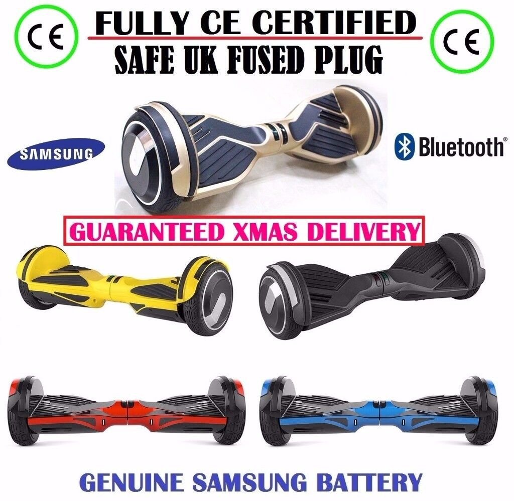 Hoverboard Bluetooth Self Balancing Scooter Hover Board Xmas Present Red