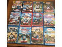 12x Thomas DVDs