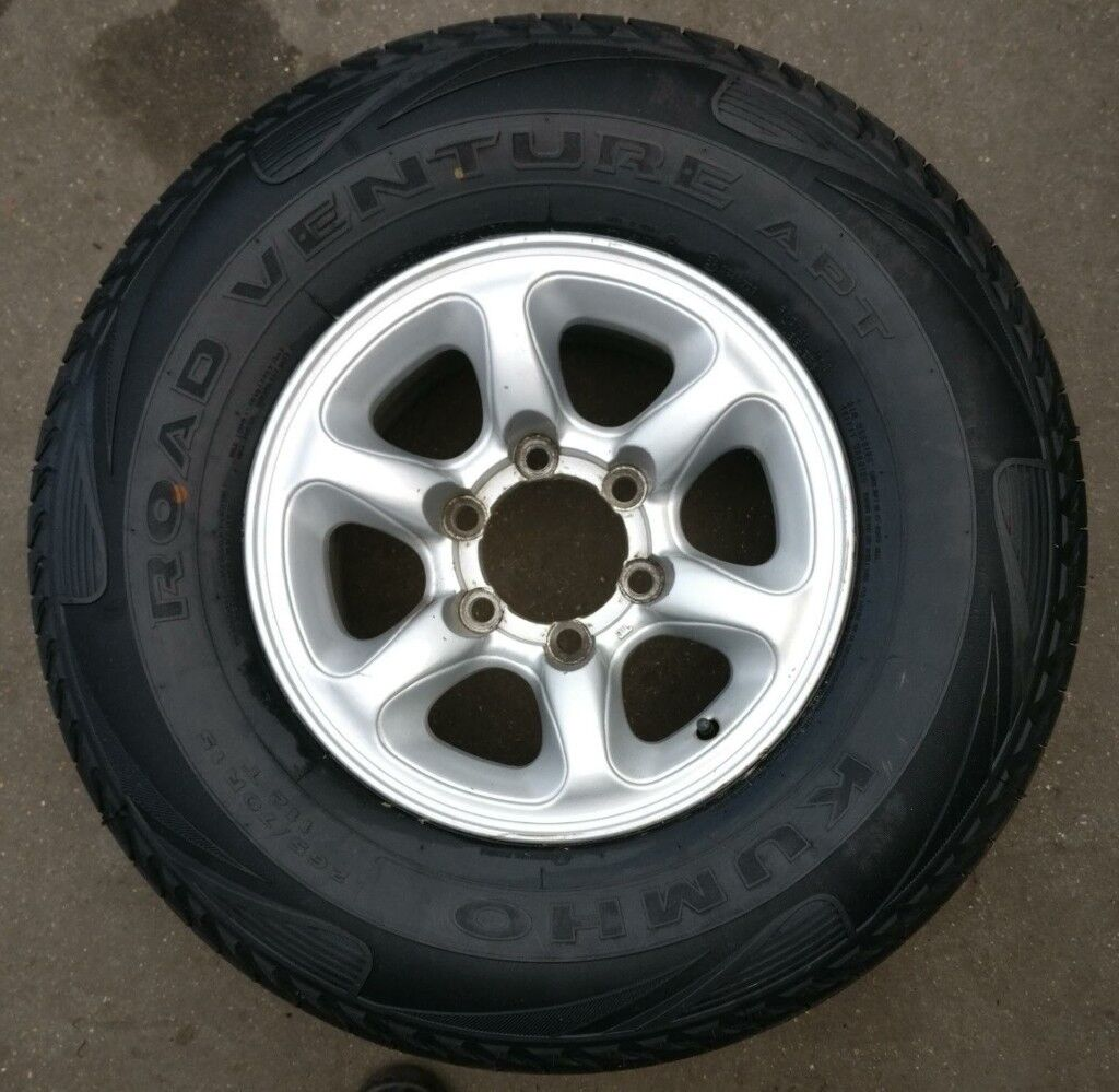 KUMHO ROAD VENTURE APT 265/70R/15 TYRE WITH ALLOY