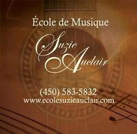 Cours de musique à domicile / Rive-sud de Montréal