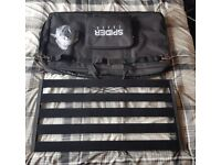 Spider Lightweight Guitar / Bass Effects Pedalboard 800mm w/ Bag Pedal Board