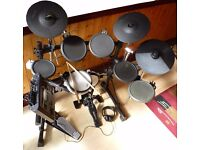 Roland TD-8 electronic drum set plus upgrades/expansion, PC/Mac connection. Delivery in N. London