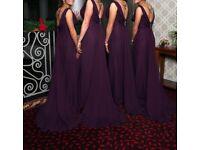 Ronald Joyce bridesmaid dress x4
