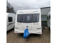 BAILEY PEGASUS, RIMINI 2 2013 MODEL REG 2012, 4 BERTH **MOTOR MOVER**
