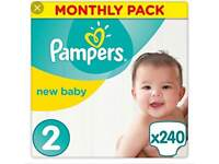 Pampers size 2 nappies