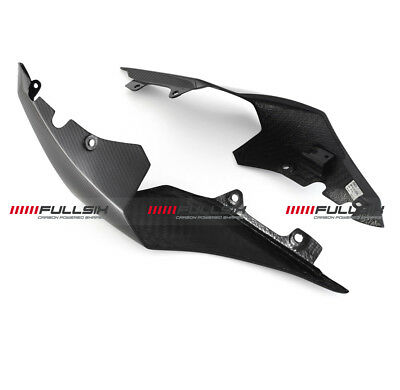 FULLSIX <em>YAMAHA</em> YZF R1 CARBON FIBRE SEAT TAIL SIDE FAIRING PANELS   GLO