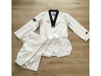 Taekwondo - MOOTO 3F WOMEN'S UNIFORM [BLACK NECK] size 180(4)