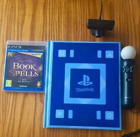 Wonderbook Book of Spells-Playstation Move included (PS3)