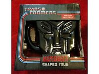 X1 Official Transformers Autobot Mug. Brand New In Box.