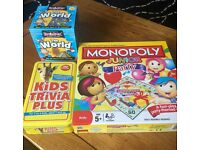 3 kids Board games