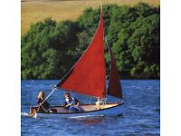 Classic Sailing Dinghy - Cornish Cove Boat 13 ft (built by Trecarne Boats 1999)