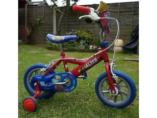 Boy's starter bike (Chuggington)