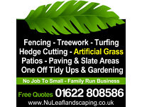 FENCING / LANDSCAPING / GARDEN SERVICES MAIDSTONE
