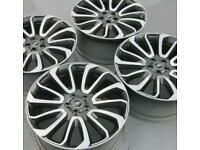 Range Rover turbine alloys