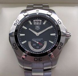 Tag Heuer Aquaracer Grande Date Gents Watch WAF1010 **Buy Online**