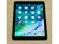 IPad Air 1st Gen, 16GB, Space Grey, Wifi + Cellular, Unlocked and Retina Display