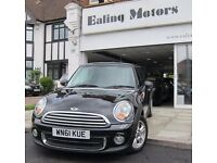2011 MINI HATCHBACK,PEPPER PACK,FULL HISTORY,AIR CON,AC,CD,RAC WARRANTY,LOW RATE FINANCE,BLUETOOTH