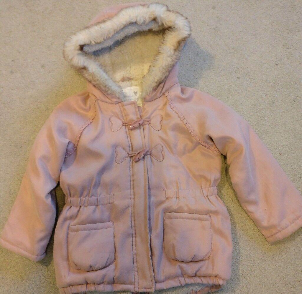Girls age 2-3 winter coat