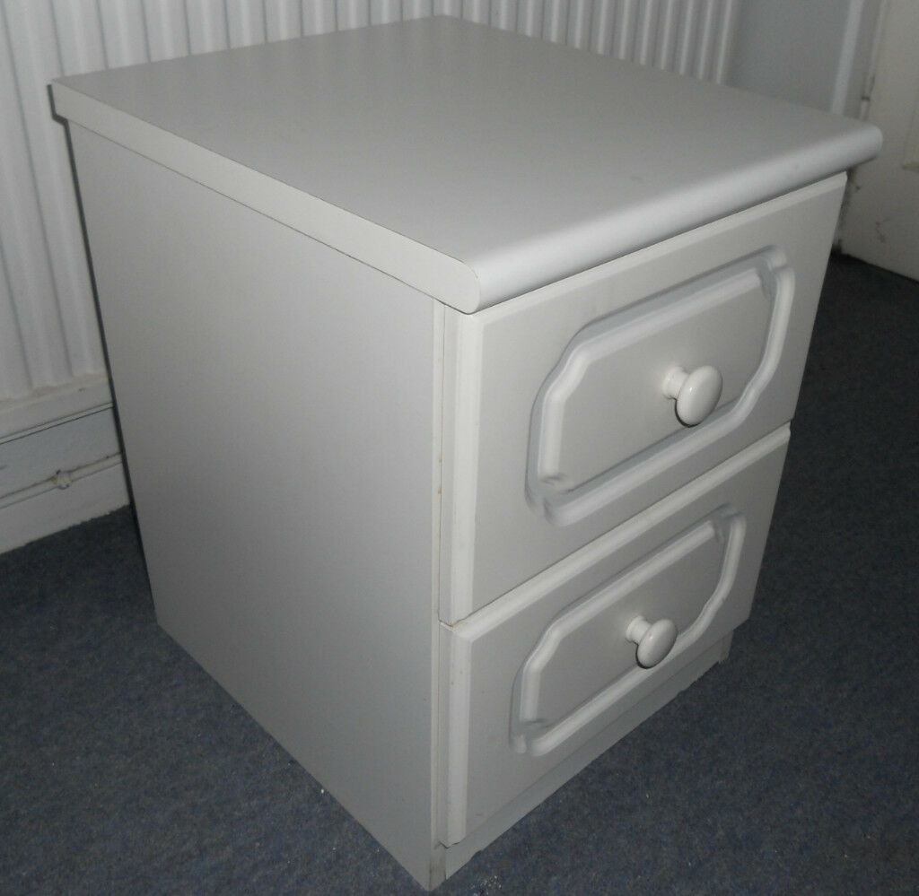 Two Drawer Bedside Chest