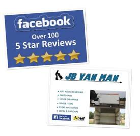 VAN MAN AND HOUSE REMOVALS PROFESSIONAL LOW COST FULLY INSURED LARGE LUTON VAN NO MULTIPLE TRIPS