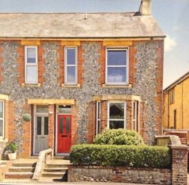 LET AGREED Beautiful Flint Fronted 4 Double Bedroom House in Central Chichester available in April